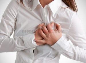 Какие признаки говорят о скором инфаркте у женщин?