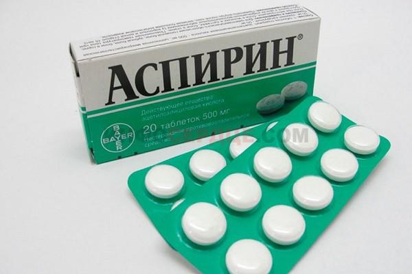 Фото таблеток аспирина