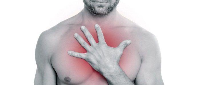 Боль в грудной клетке — причины, симптомы, профилактика, лечение